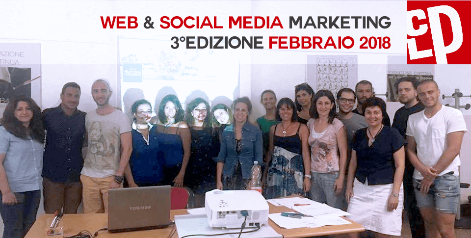 Genova Corso Social Media Marketing Camera di Commercio