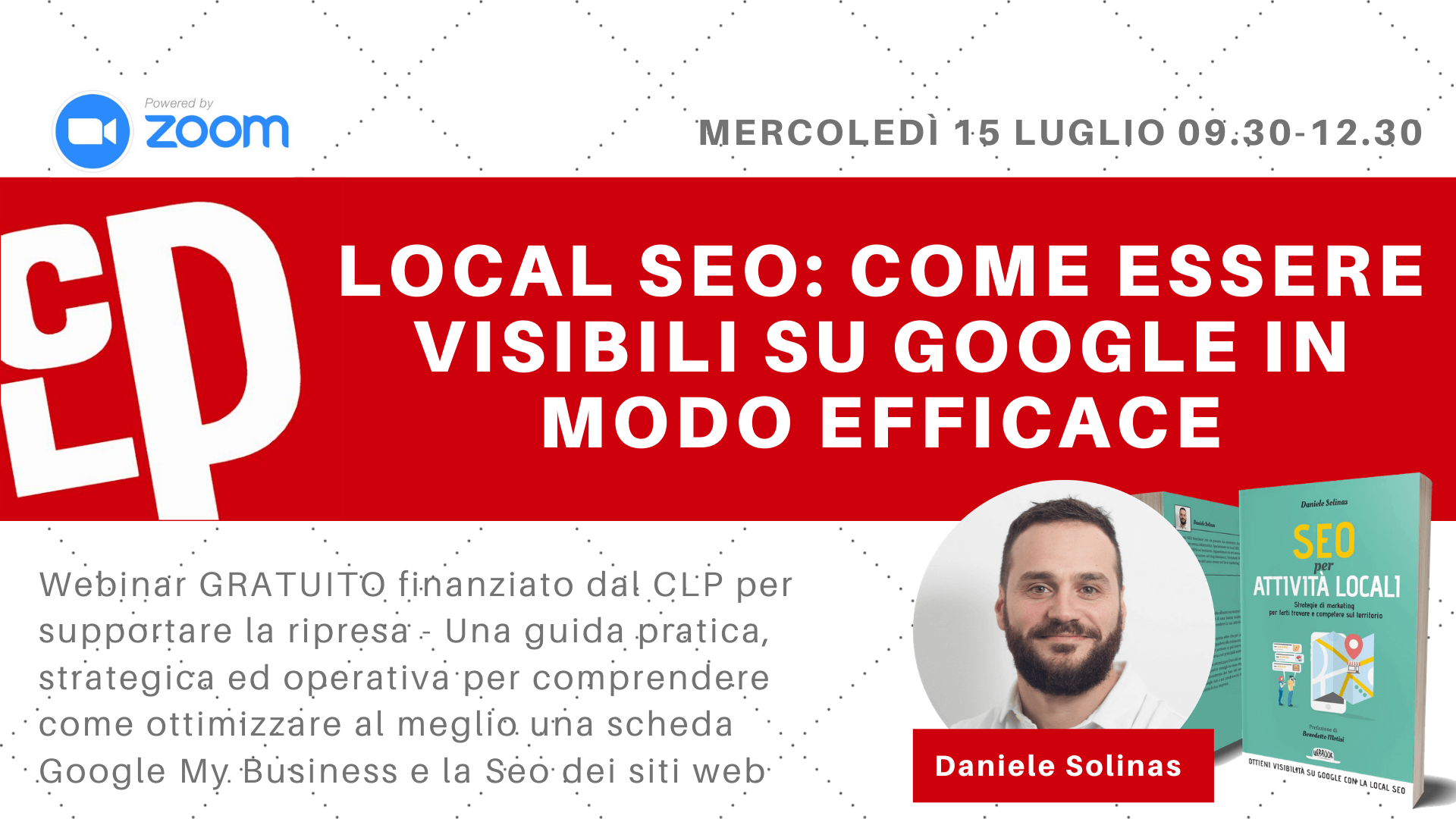 Webinar Local SEO Google My Business di Daniele Solinas FAI SUL SEO
