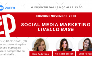 Corso GRATUITO base social media marketing corso camera commercio genova
