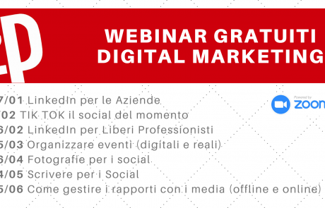 Webinar digital marketing gratuiti 2021