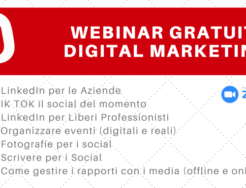 Webinar Gratuiti Digital Marketing 2021